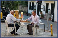 Backgammon Players in Antayla