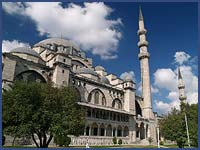 SULEYMANIYE MOSQUE, BUILT BY SINAN THE MASTER BUILDER, ISTANBUL