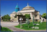 KONYA, HOME OF THE MEVLANA MUSEUM WITH ITS TOMB OF THE POET AND MYSTIC, RUMI