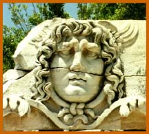 Head of Medusa at Didyma